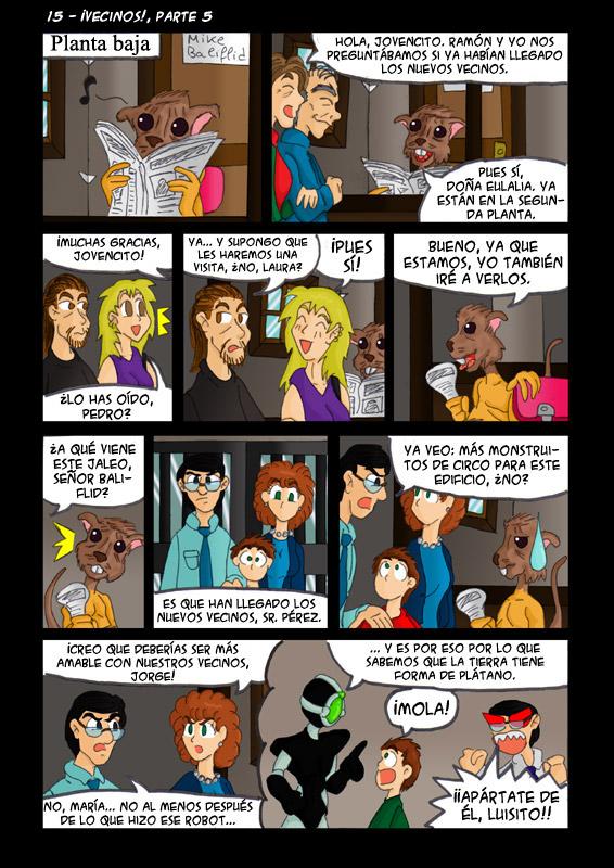 15 – ¡Vecinos!, parte 5