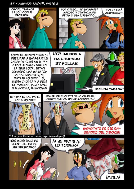 27 – Akuryou Taisan!, parte 5