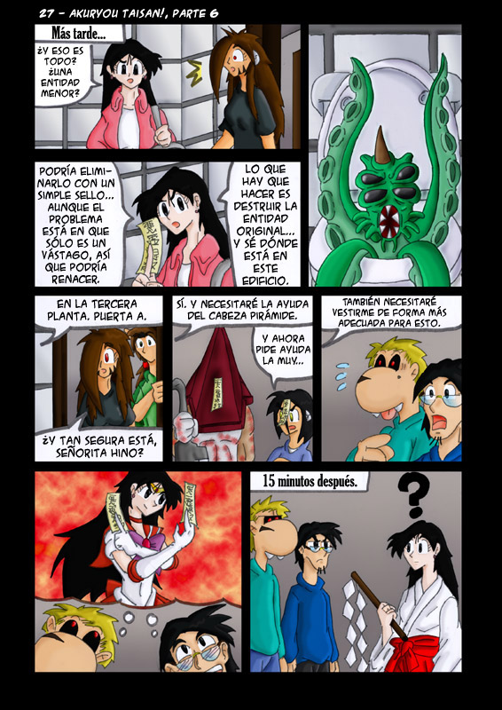 27 – Akuyrou Taisan!, parte 6