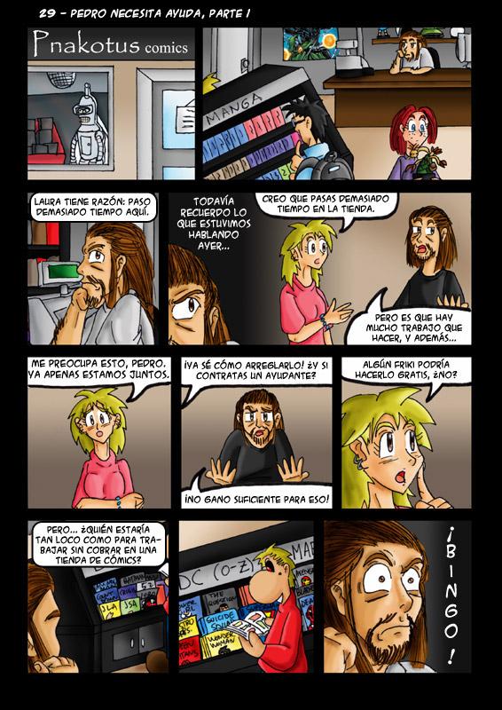29 – Pedro necesita ayuda, parte 1