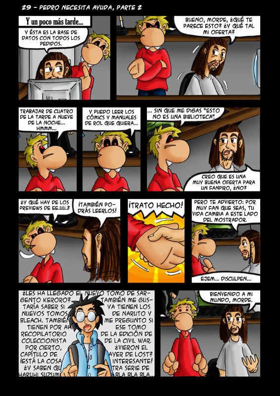 29 – Pedro necesita ayuda, parte 2