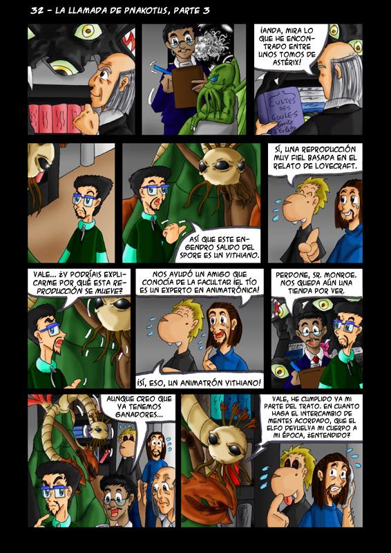 32 – La llamada de Pnakotus, parte 3
