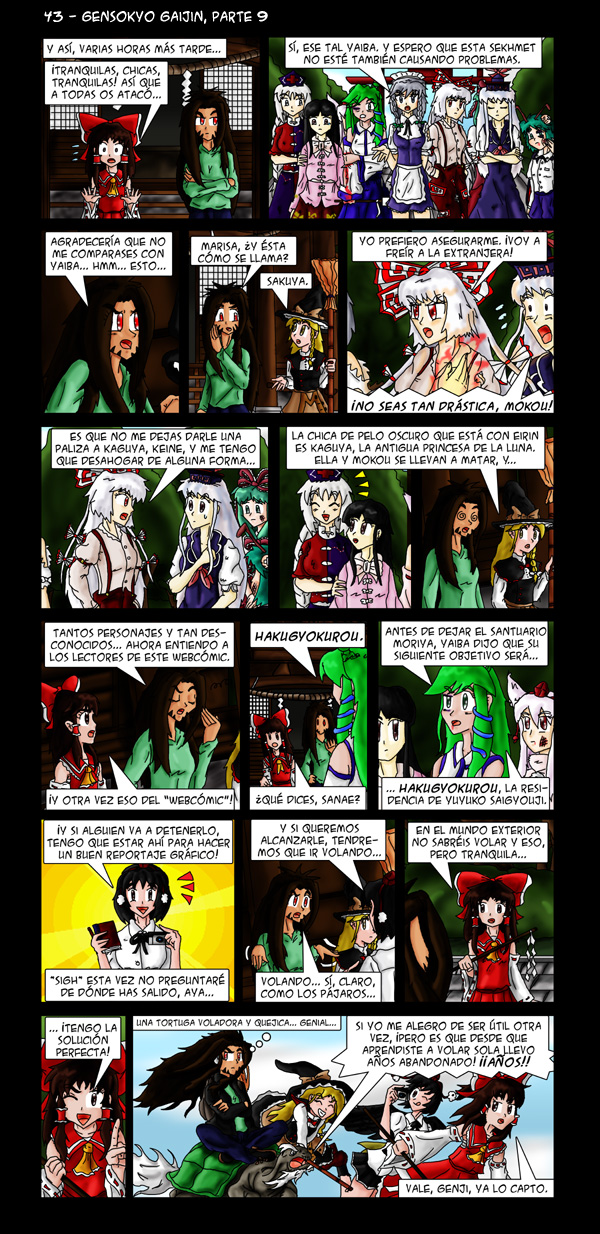 43 – Gensokyo Gaijin, parte 9