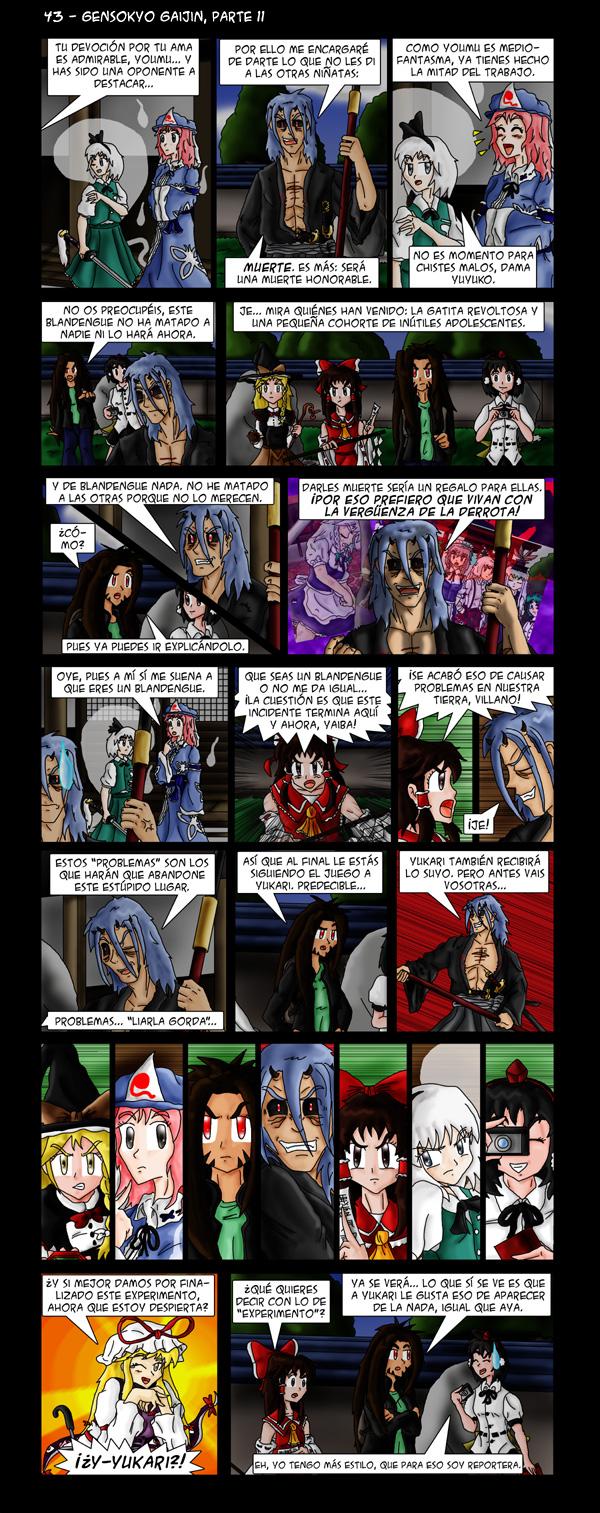 43 – Gensokyo Gaijin, parte 11