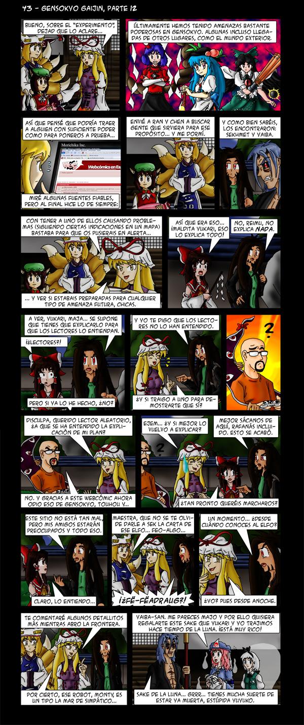 43 – Gensokyo Gaijin, parte 12
