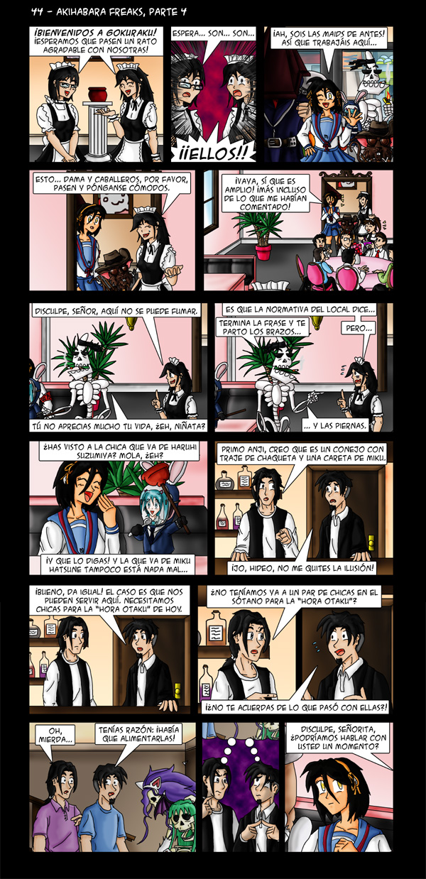 44 – Akihabara Freaks, parte 4