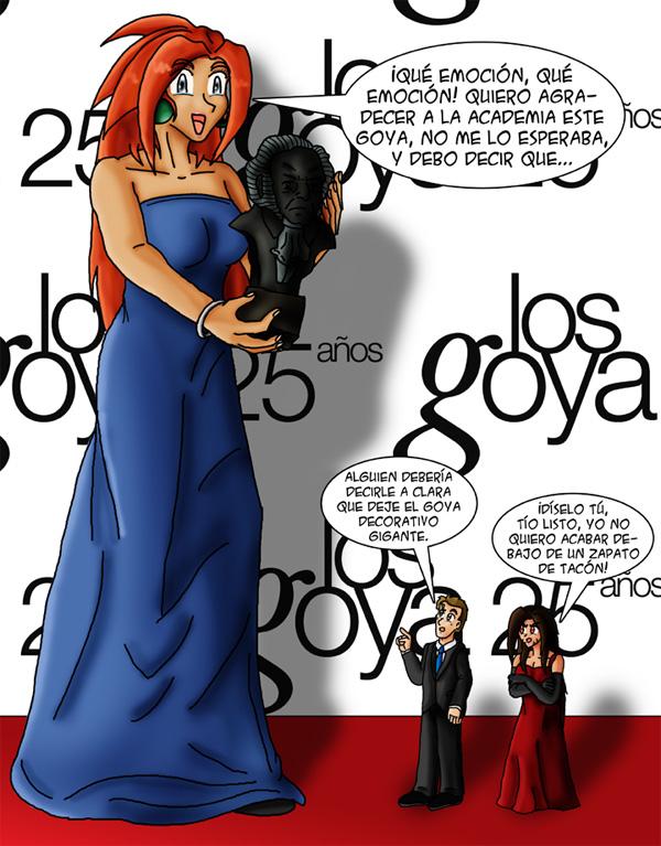 EXTRA – Clara en los Goya