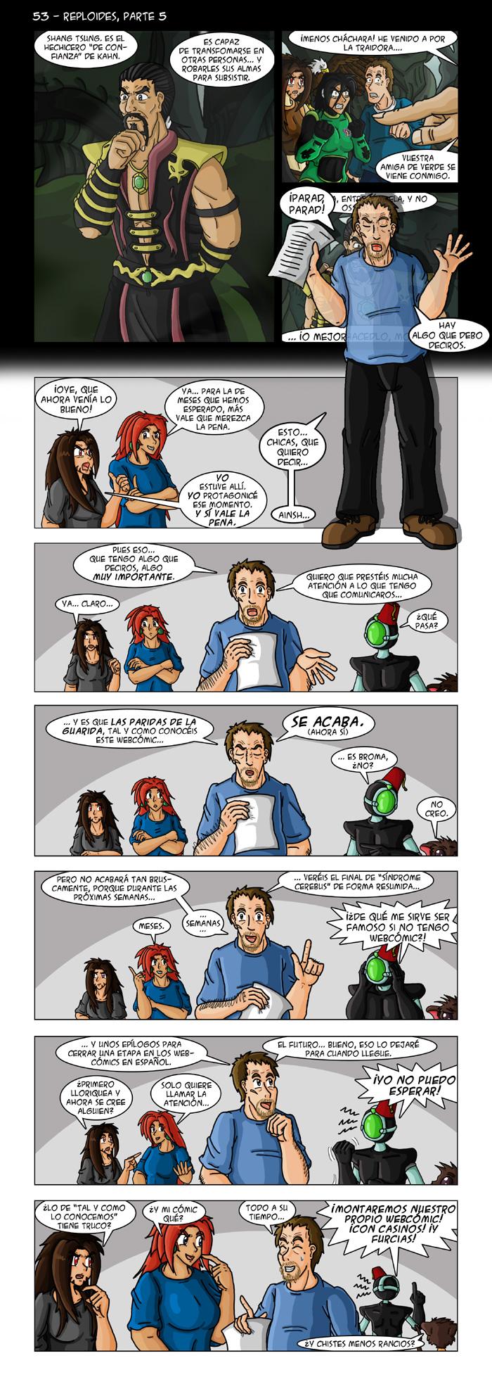 53 – Reploides, parte 5